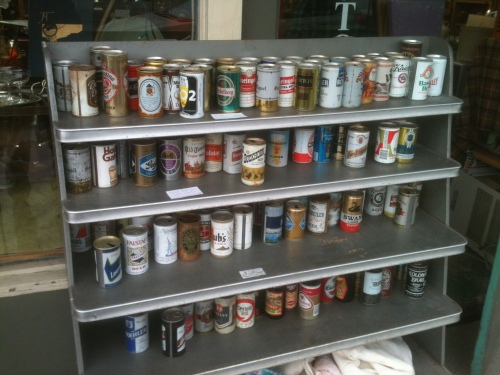 Group beer cans