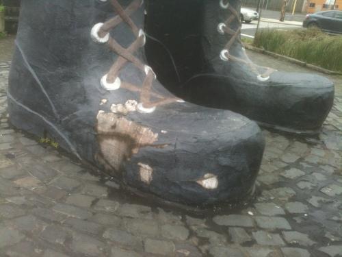 Paul needs boots 1