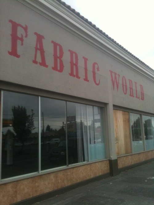 Fabric World detail