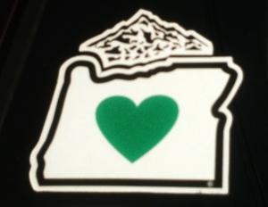 Mt Hood Heart of Oregon