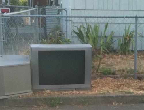 TV curb