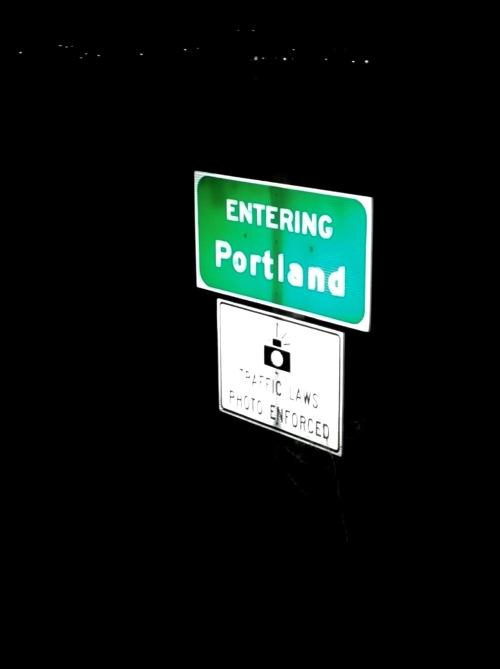 Entering Portland (1)