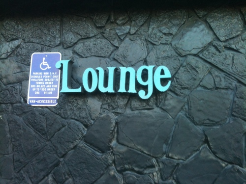 lounge sign exotica