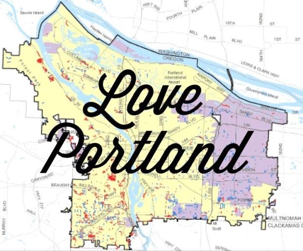 Love Portland City Limits