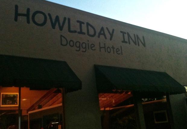 Howliday Inn Lettering