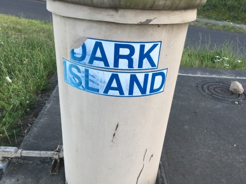 "It has to be a ""D"" to make it Dark Island."