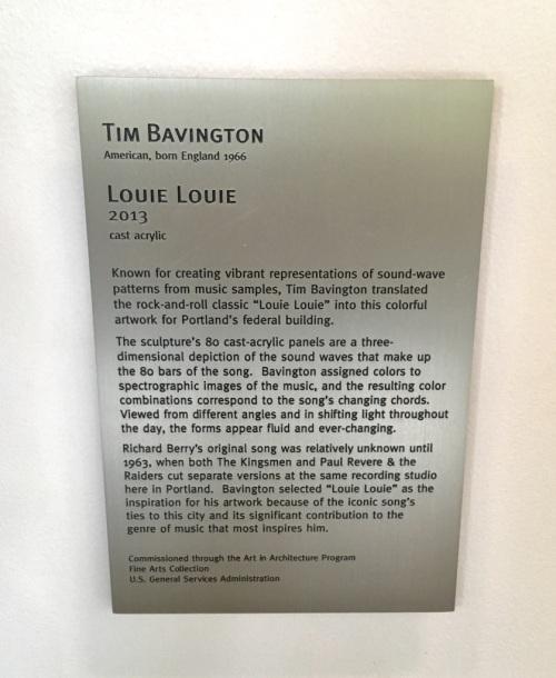 The Louie Files: Louie, Louie Sculpture 3