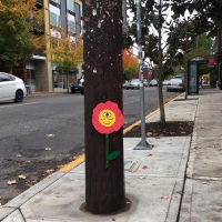 Pole Art 3 part 2: Brightening Up the Days of Passersby