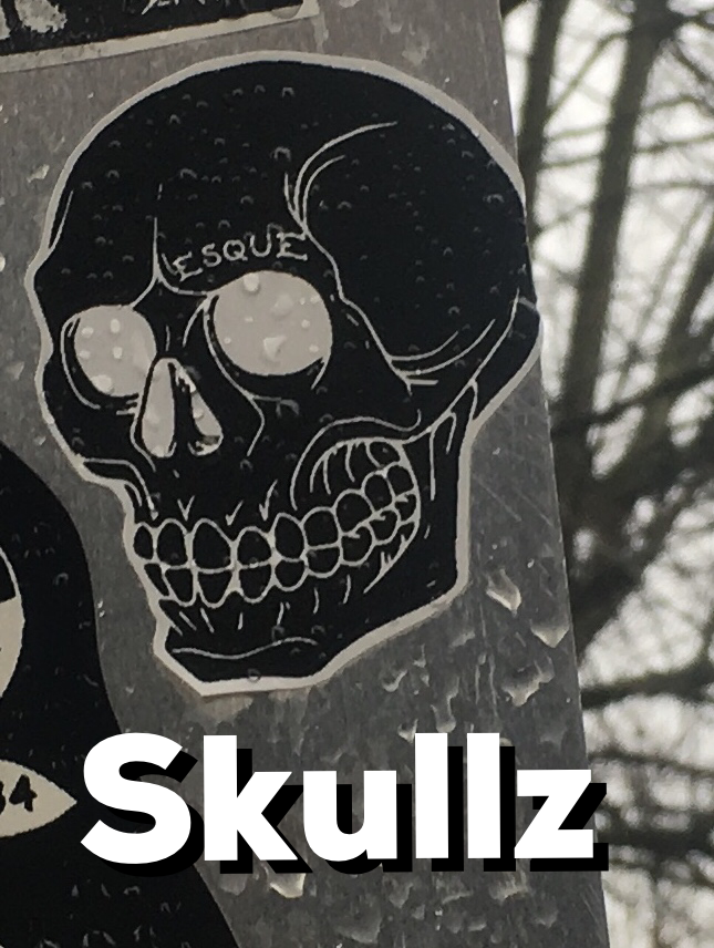 Whats with all the skulls i see them everywhere the images signify our current apocalyptic culture doom stares me down all over town through empty