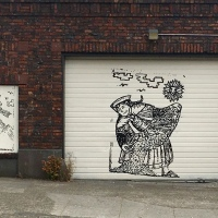 Museum Parking: The Art of the Garage Door